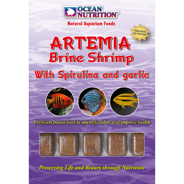 Ocean Nutrition Artemia with Spirulina & Garlic 100 gr