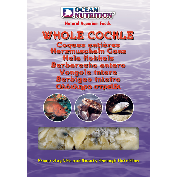 Ocean Nutrition Whole Cockle (Mono Tray) 100 g