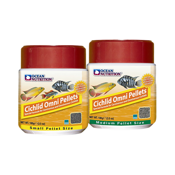 Ocean Nutrition Cichlid Omni Pellets Small